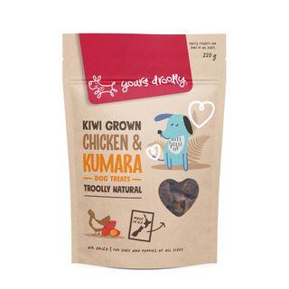 YD NZ Chicken & Kumara Dog Treats 220g