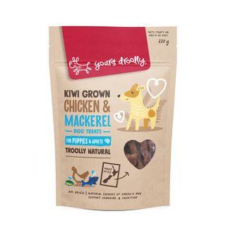 YD NZ Chicken & Mackeral Puppy Treats 220g