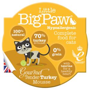 Little Big Paw Cat Turkey 85g