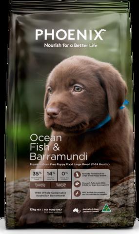 Phoenix Puppy Large Breed Ocean Fish 13kg