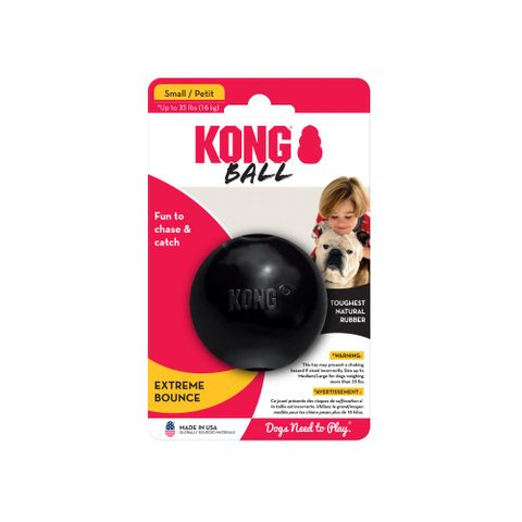 Kong Extreme Ball Small - Black