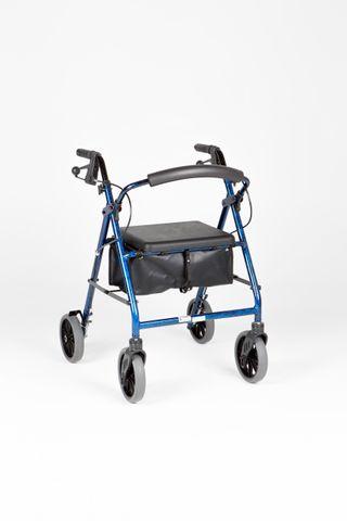 """Ellipse 8"""" Rollator Blue Mottled (9346376000055)"""