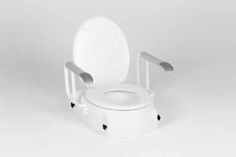 Peak Raised Toilet Seat With Swing Back Arms (9346376011013)