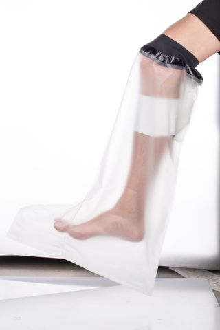 Peak  Cast Protector Adult Half Leg - Small   Suits 35-39cm Leg Circumference