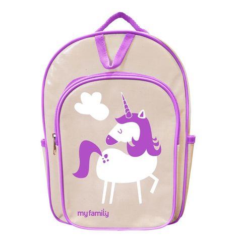 My Family Backpack - Unicorn