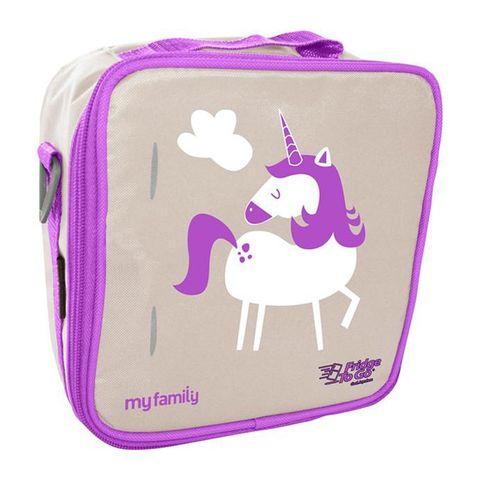 My Family Lunch Bag by Fridge to Go - Unicorn