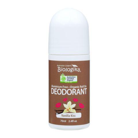 Biologika Vanilla Kiss Roll On Deodorant - 70ml