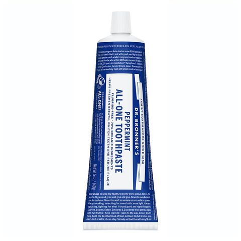Dr Bronner's Peppermint All One Toothpaste - 140g