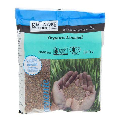 Kialla Organic Linseeds - 500g