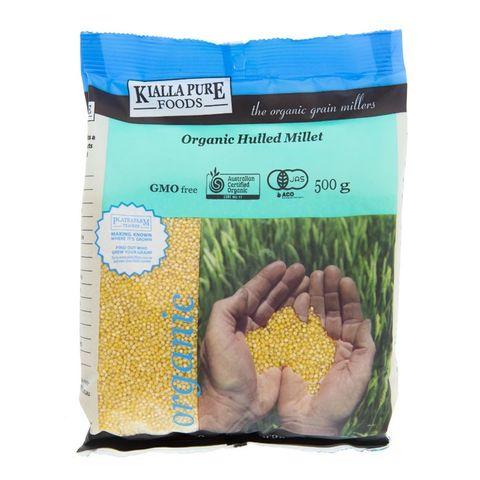 Kialla Organic Millet (Hulled) - 500g
