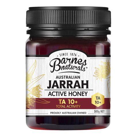 Barnes Naturals Active Jarrah Honey 10+ - 500g