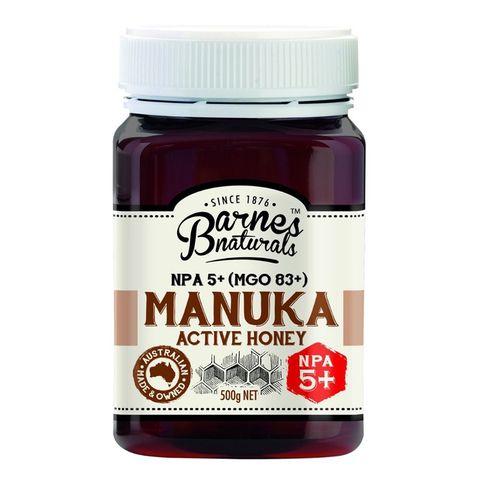 Barnes Naturals Manuka Honey 5+ - 500g