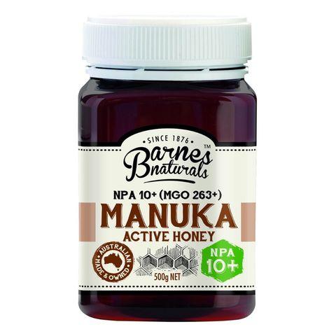 Barnes Naturals Manuka Honey 10+ - 500g