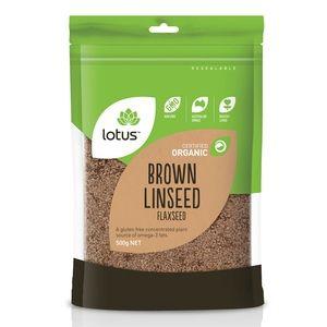 Lotus Organic Brown Linseed - 500g
