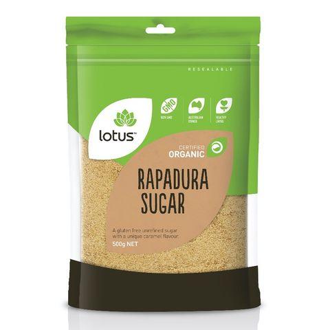 Lotus Organic Rapadura Sugar - 500g
