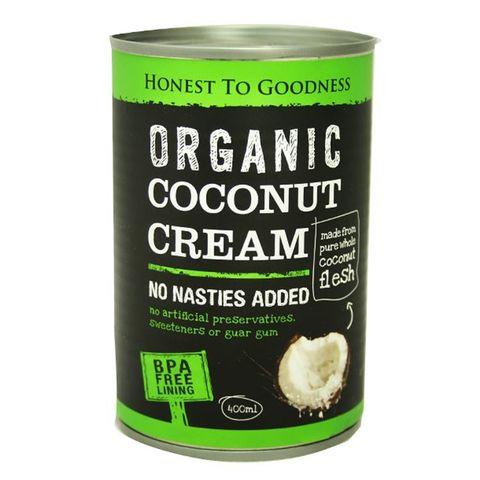 Honest to Goodness Organic Coconut Cream - 400g