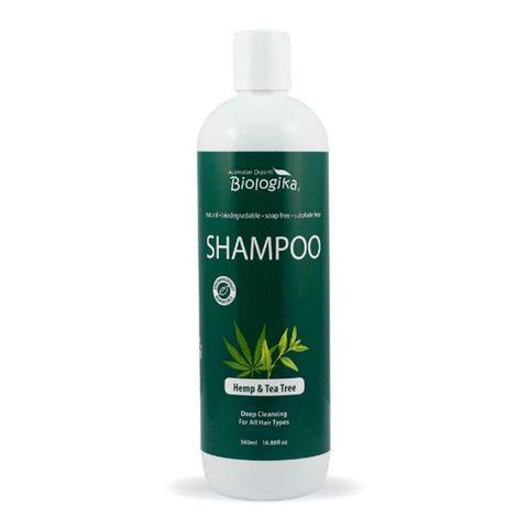 Biologika Hemp & Tea Tree Shampoo - 500ml