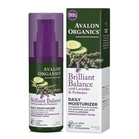 Avalon Organics Lavender Daily Moisturiser - 50g