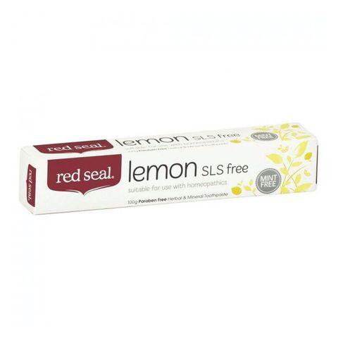 Red Seal Lemon Fresh Toothpaste - 100g