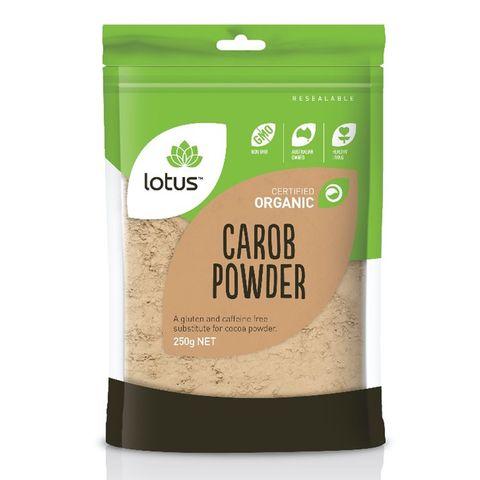 Lotus Organic Carob Powder - 250g