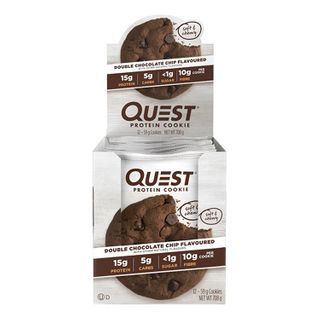 Quest Double Choc Chip Protein Cookies - 12 x 59g