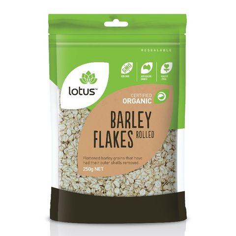 Lotus Organic Barley Flakes - 250g