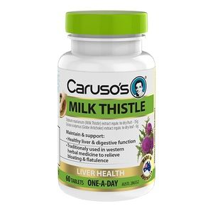 Caruso's Natural Health Milk Thistle 60 Tablets