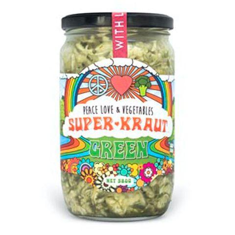 [] Peace Love Vegetables Green Sauerkraut - 580g (Refrigerated)