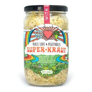 [] Peace Love Vegetables Dill Sauerkraut - 580g (Refrigerated)