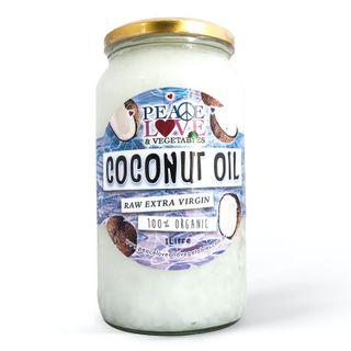 Peace Love Vegetables Organic Virgin Coconut Oil - 4 x 1L