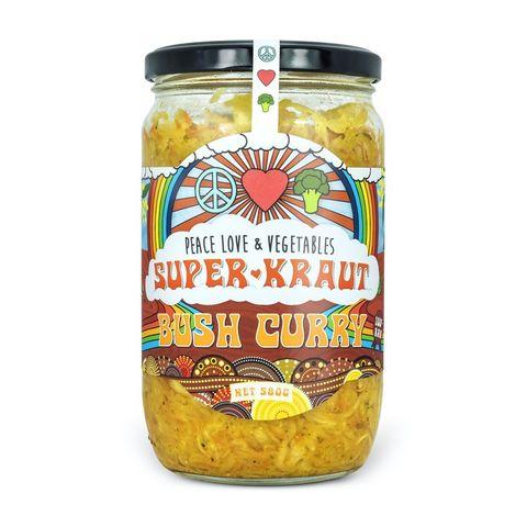 [] Peace Love Vegetables Bush Curry Sauerkraut - 580g (Refrigerated)