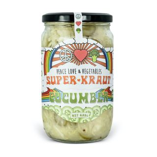 [] Peace Love Vegetables Cucumber Sauerkraut - 635g (Refrigerated)