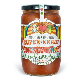 [] Peace Love Vegetables Smoked Chilli Sauerkraut - 635g (Refrigerated)