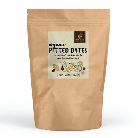 [] Orgamix Organic Pitted Dates - 1kg (Refrigerated)