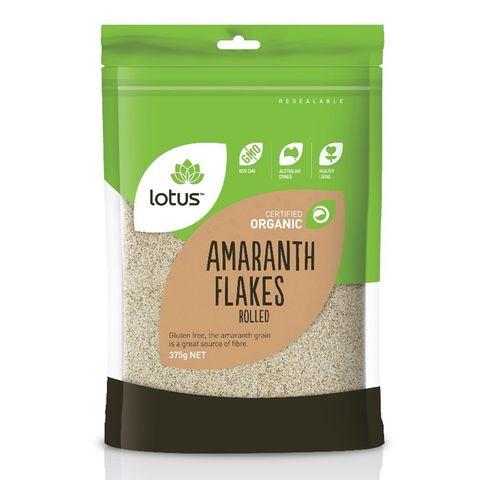 Lotus Organic Amaranth Flakes - 375g