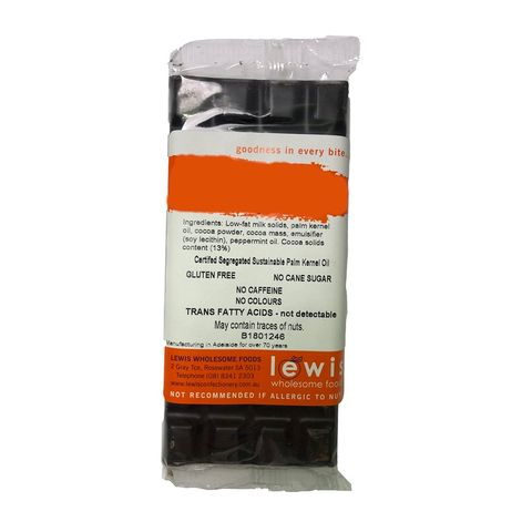 [] Lewis Confectionery Carob Fruit & Nut Bar - 110g (Refrigerated)