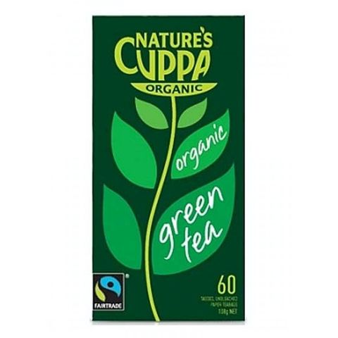 Natures Cuppa Organic Loose Leaf Green Tea - 125g