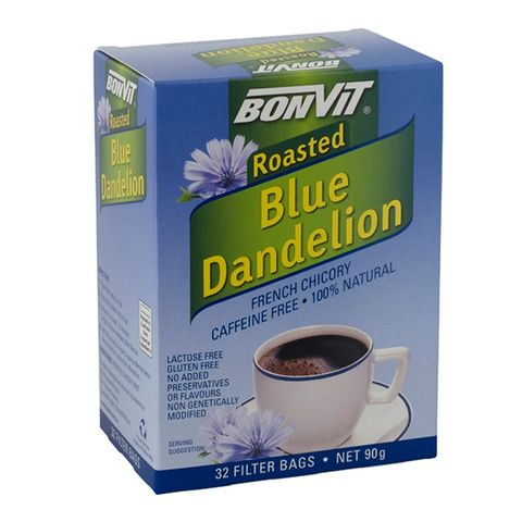 Bonvit Blue Dandelion French Chicory - 32 Teabags