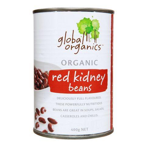 Global Organics Red Kidney Beans - 400g