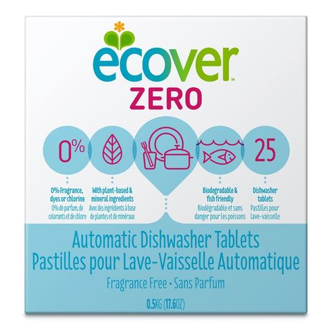Ecover Zero Automatic Dishwashing Tablets - 500g