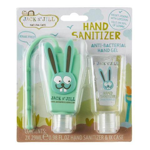 Jack n Jill Hand Sanitizer Bunny - 2 x 29ml