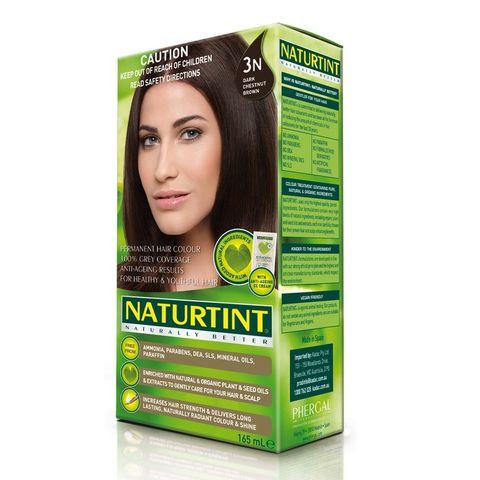 NaturTint Dark Chestnut Brown 3N - 165ml