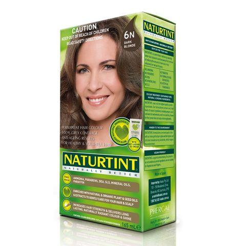 NaturTint Dark Blonde 6N - 165ml