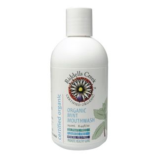 Riddells Creek Organic Organic Mint Mouthwash - 250ml