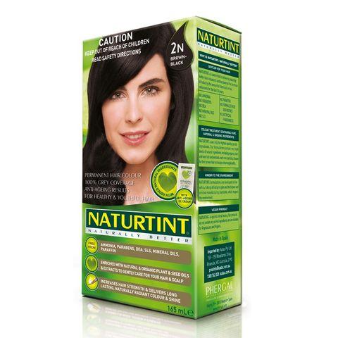 NaturTint Brown Black 2N - 165ml