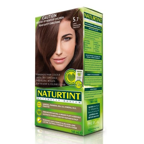 NaturTint Light Chocolate Chestnut 5.7 - 165ml