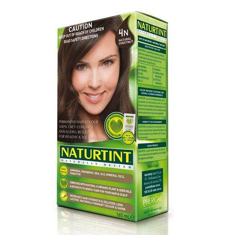 NaturTint Natural Chestnut 4N - 165ml