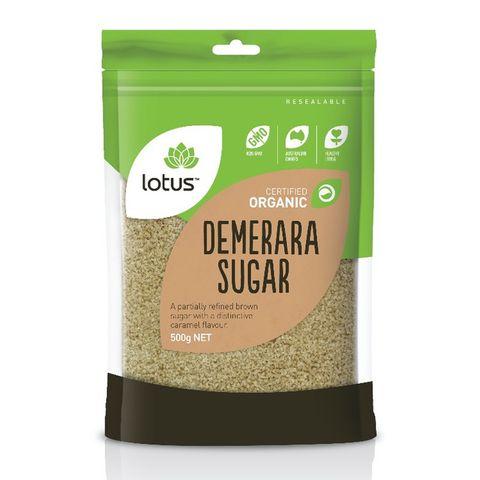 Lotus Organic Demerara Sugar - 500g