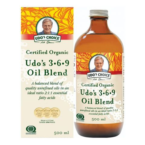[] Udos Choice 3-6-9 Oil Blend - 500ml (Refrigerated)