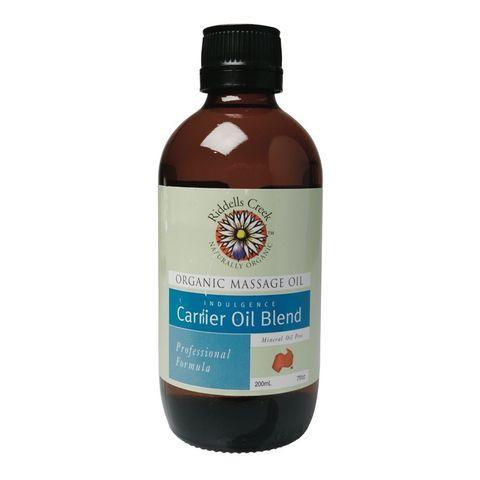Riddells Creek Organic Carrier Oil Massage Oil - 200ml